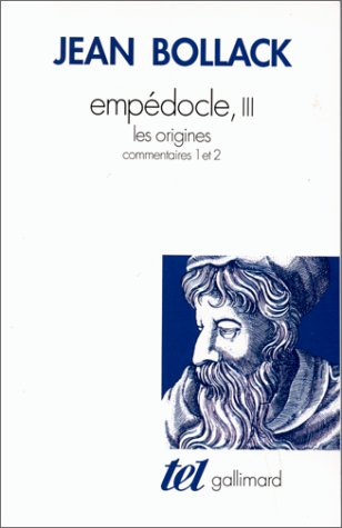 Empédocle (Tome 3-Les Origines)