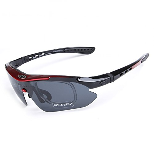 BaiTe Unisex - Erwachsene Sportsonnenbrille Sportstyle