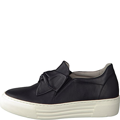 Gabor Damen Comfort Sneakers Blau (navy 56)