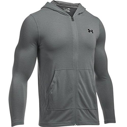 under-armour-pullover-sweatshirts-threadborne-fitted-fz-hoody-graphite-l