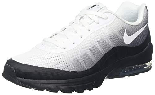 Nike Herren Air Max Invigor Print Laufschuhe, Mehrfarbig (BLACK/WHITE-COOL GREY), 43 EU -