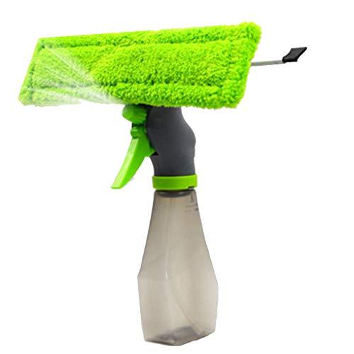 Republe 3 in 1 Spray Glasreiniger Autofenster Waschbürste Autowaschbürste Fenster Fiber Handtuch Auto Reinigungsbürste trocken Schälgeräte Mop