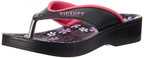 TipTopp (from Liberty) Women's Lilly Pink Flip Flops - 7 UK image