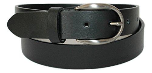 ITALOITALY Cintura Vera Pelle Italiana Nera Donna Alta 3 Produzione Artigianale Made Italy Accorciabile