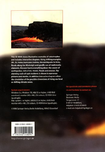 Natural Disasters. CD-ROM für Windows ab 3.x/MacOS ab 7: Cause, Course, Effect, Simulation
