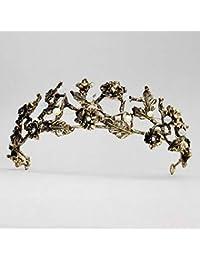 Little fairy QJ Tiare Tiara Sposa Fascia per diadema della Sposa della  Corona della Corona di 54c4a6e33dff