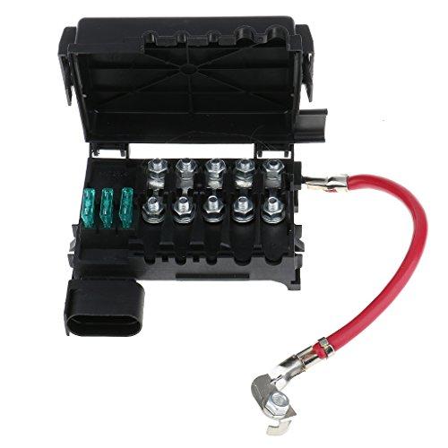 Preisvergleich Produktbild MagiDeal Auto Batterie Sicherungskasten Sicherungshalter Box Sicherungsdose Terminal für 99-04 VW Volkswagen Jetta Golf Mk4 1J0937550A