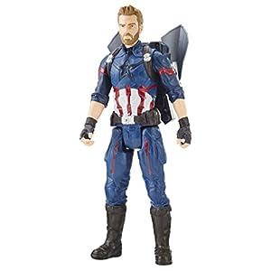 Marvel- Titan y Mochila Power Fx Capitán América (Hasbro E0607105) 12