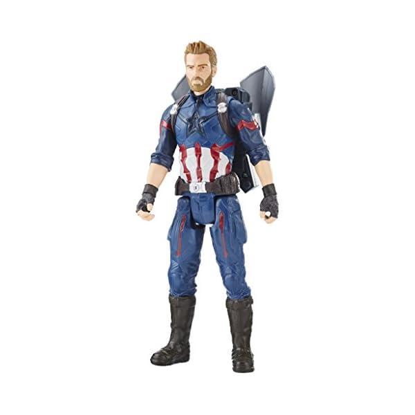 Marvel- Titan y Mochila Power Fx Capitán América (Hasbro E0607105) 1