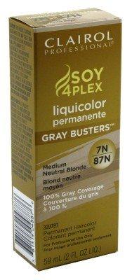 Clairol Professional Liquicolor Perm 7N/87N Medium Neutral Blonde 2oz by Clairol
