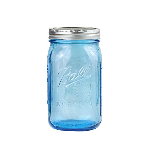 4 x Ball Mason Jar | Blau 950 ml