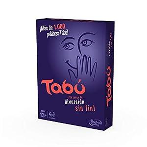 Hasbro Gaming- TABÚ, Juego de Mesa