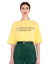 Agatha Ruiz de la Prada Camiseta Amarillo MIERCOLES (38)
