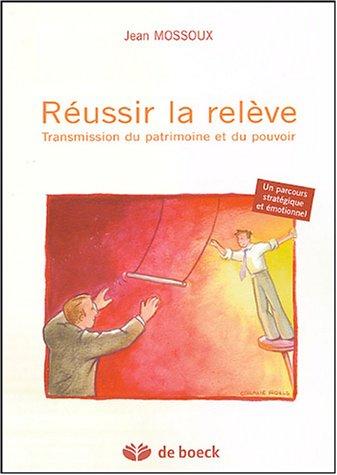 Réussir la relève : Transmission du patrimoine et du pouvoir