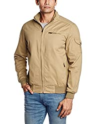 Pepe Jeans Mens Cotton Jacket (8903872645640_SANDBOX LS_XX-Large_Beige)