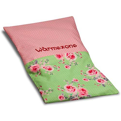 MEIN-NAME - personalisiertes Wärmekissen mit Wunschnamen vom Baby oder Kind, Körner Kissen, Babygeschenk für Mädchen und Jungen