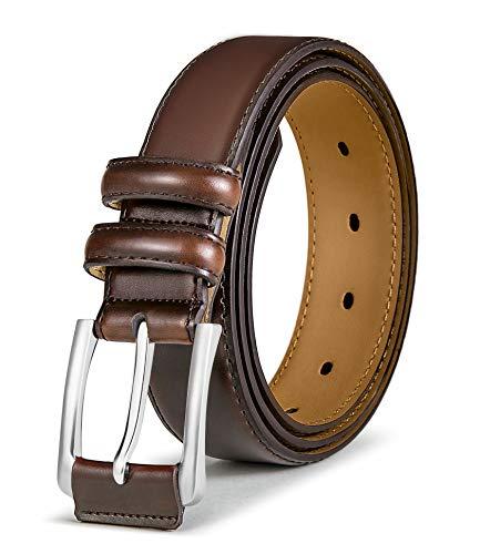 BULLIANT Cinturón Hombre, Cinturón De Cuero Genuino De Los...