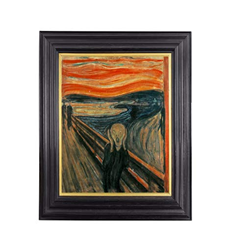 Edvard Kunstdruck Munch The Scream, 43,2 x 54,3 cm Kunstdruck mit Archivtinte und professionellem Papier. - 60 Lb Papier