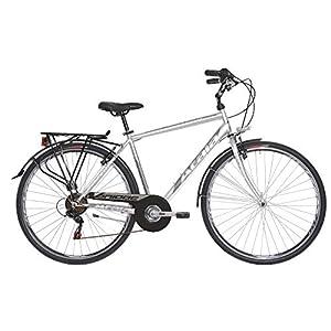41JSGpICMeL. SS300 Atala Bicicletta da Uomo Bridge 7 velocità, Modello 2019, Colore Grigio Ultralight, Misura M (165-180cm)