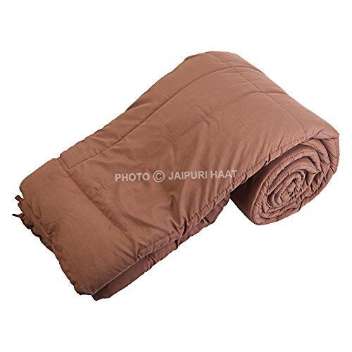 Jaipuri Haat Soft Micro Polyester and cotton Mix Single Duvet /Comforter/ Quilt/...