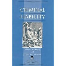 Criminal Liability: A Grammer