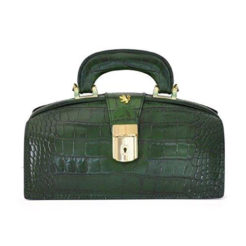 Pratesi Lady Brunelleschi Sac pour femme - K120/N King (Cerise) Vert