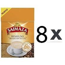 Capsulas Compatibles Nespresso® Saimaza Desayuno 80 ud