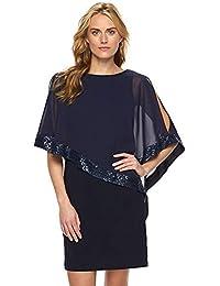 824dcc657 NANADEDIAN Vestidos Moda clásica versátil Confort Verano Vestido de  superposición con Lentejuelas Vestido de Fiesta con