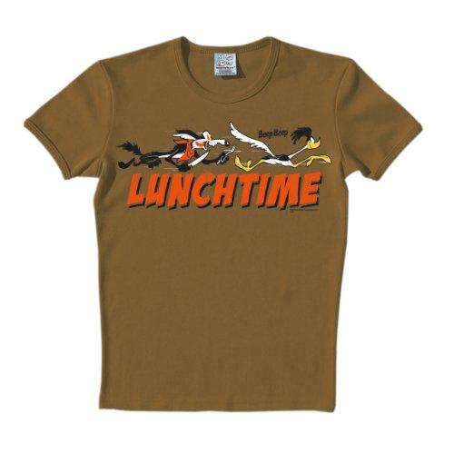 Logoshirt Unisex T-Shirts - Braun - Marron sable - M (Herstellergröße: ()