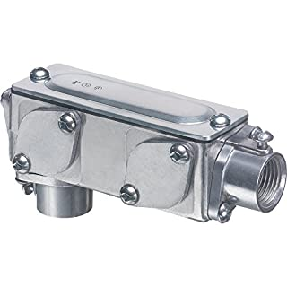 Arlington Industries 938-1 Universal AnyBODY Conduit Body Converts to LB T LL LR or C (Pack of 1), 3-1/2