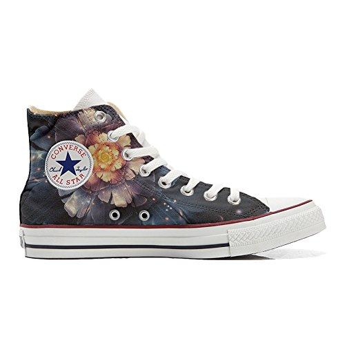 Converse Customized - zapatos personalizados (Producto Artesano) Infinity flors - TG41