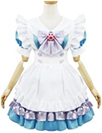 Women Maid Costume Adult Blue Alice French Maid Halloween Costume Lolita Dress