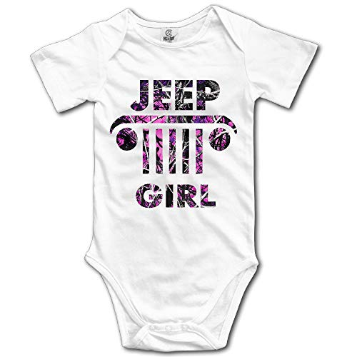 Proud Clothing Poursoi Baby Girls' Jeep Girl Cozy Rompers 18 Months -