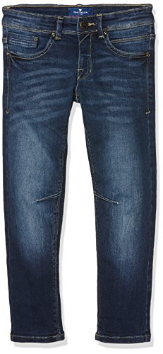 Tom Tailor Authentic Style Denim Ryan, Blu Bambino, Blu (Stone Blue Denim 1095), 134