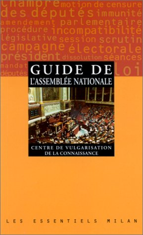 Guide de l'Assemblée nationale