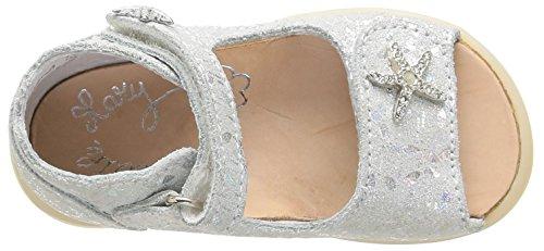 Little Mary Valerie, Chaussures Premiers pas bébé fille Argent (Zeus Argent)