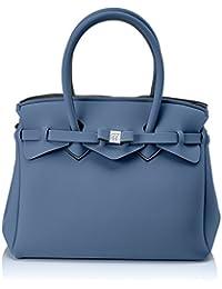 SAVE MY BAG Miss, Sac à main pour femme Bleu (Blu (Balena))