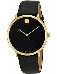 Movado Men's Museum 70th Anniversary 40mm Black Swiss Quartz Watch 0607135
