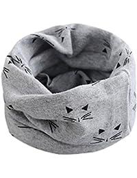 otoño invierno niños niñas collar del bebé bufanda de algodón cuello  redondo bufandas o ring pañuelos ... 96f80b9e5b5