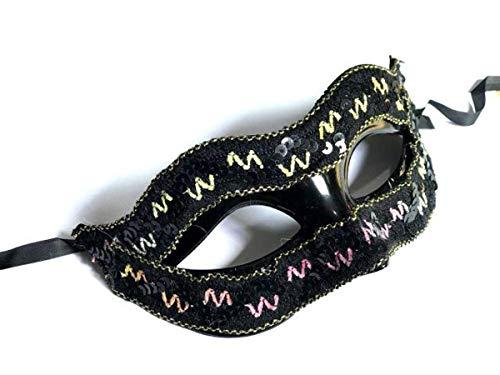 Xiao-masken Halbes Gesicht Fuchs Maske Prinzessin Venedig Maske Halloween Weihnachtsfeier Ball Maske Maskerade Leistung Männlich Einfache Maske (Halloween-kostüme Einfache Männlich Schnelle Und)