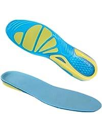 Semelle Intérieure en Gel - C-foot Semelles Silicone de Marche Sport Orthopédique Ultra Confort Pour les Douleurs au Niveau du Talon