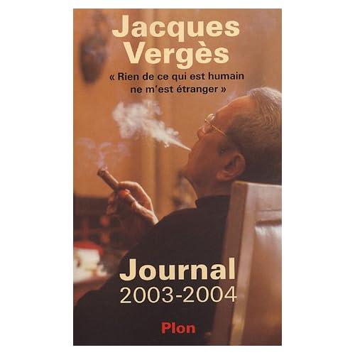 Journal 2003-2004 : 'Rien de ce qui est humain ne m'est étranger'