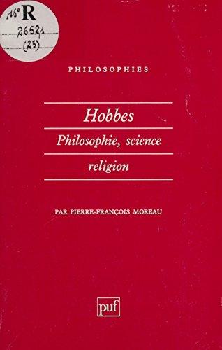 Hobbes : philosophie, science, religion