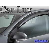 Car Lux NAR03015 - Derivabrisas Deflectores de viento Deflector Ventanilla