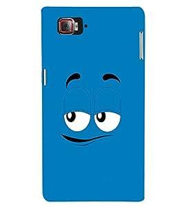 EPICCASE Blue eyes cartoon Mobile Back Case Cover For Lenovo Vibe Z2 Pro K920 (Designer Case)