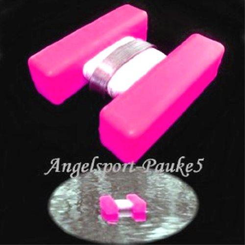 Expert Anglers H-Bojen, Markierung für Futterplatz usw. Marker Leuchtfarbe- Pink/Groß - Boje Angeln