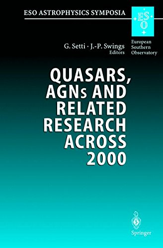 quasars-agns-and-related-research-across-2000-conference-on-the-occasion-of-l-woltjers-70th-birthday