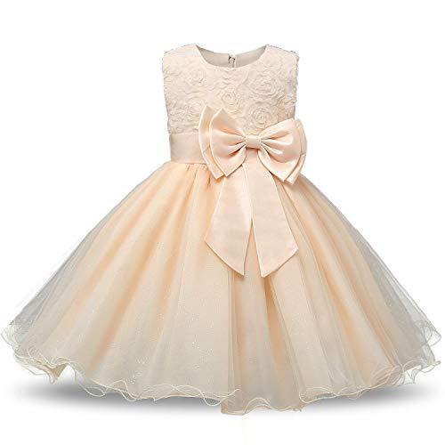 Baby Mädchen Kleidung Set Kurzarm Rundhals Rose Print Strampler Rüschen Plissee Solid Color Rock Outfit Set 2 Stücke für 0-18 Monate - Ruffled Zwei Stück