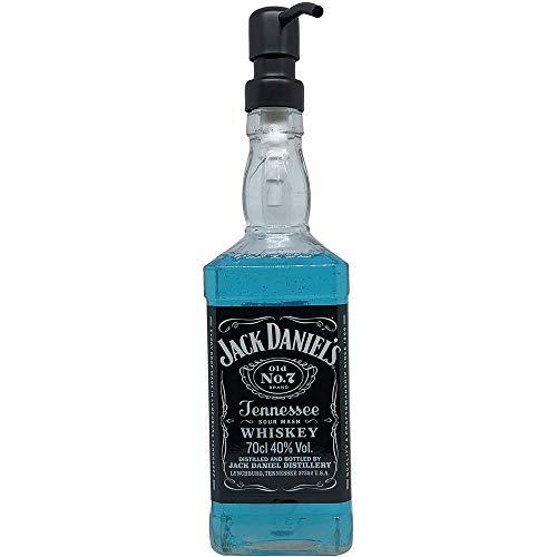Dekoflasche - Dekospender - Jack Daniels - origineller Seifenspender Seifenspender mit Pumpknopf I Dekospender mit Flüssigseife modern I Flaschenspender Seifenwasser Seifenschaum Mit Jack
