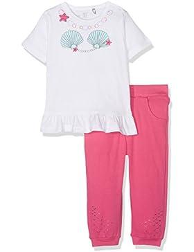 natubini Baby-Mädchen Bekleidungsset Set aus Hose und T-Shirt Bio-Baumwolle